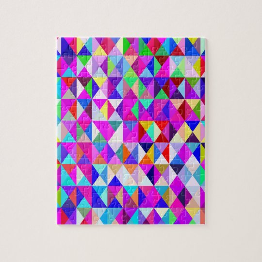 Fun with Geometrics. Jigsaw Puzzle