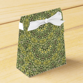 fun with lime green favour box