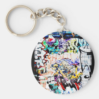 Fun with Tags Basic Round Button Key Ring