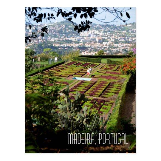 Funchal Botanical Gardens Madeira Portugal Postcard