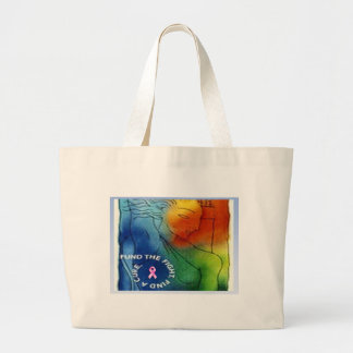 Fund the Fight Tote Jumbo Tote Bag