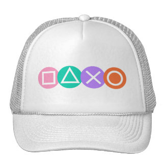 Fundamental Game Symbols Trucker Hats