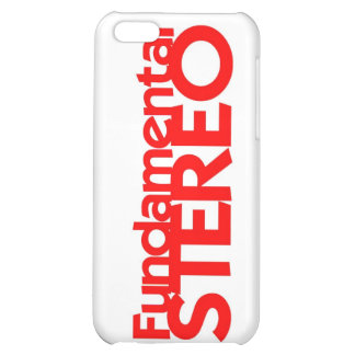 Fundamental Stereo Iphone 3 Cover iPhone 5C Cases