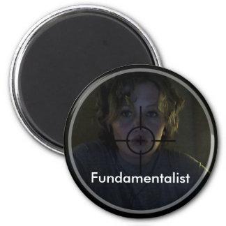 Fundamentalist 6 Cm Round Magnet