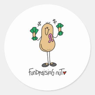 Fundraising Nut Stickers