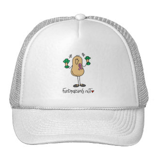 Fundraising Nut T-shirts and Gifts Mesh Hats
