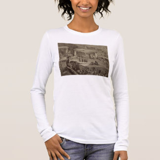 Funeral Ceremony in the Ruins at Akhaltchi, Dagest Long Sleeve T-Shirt