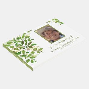 Funeral Condolence | Photo Memorial Guest Book