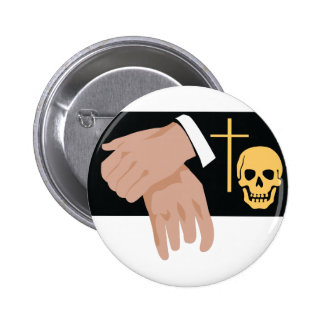Funeral Director 6 Cm Round Badge