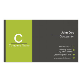 Funeral Director Business Card