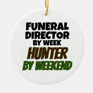 Funeral Director by Week Hunter by Weekend Christmas Ornament