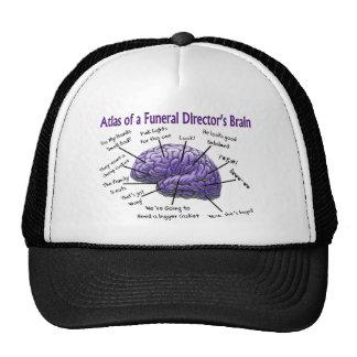 Funeral Director/Mortician Funny Brain Design Hats