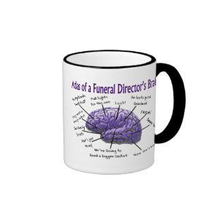Funeral Director/Mortician Funny Brain Design Mug