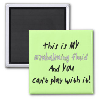 Funeral Director/Mortician Funny Gifts Square Magnet