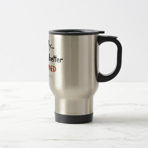 Funeral Director/Mortician Funny Hearse Design Coffee Mugs
