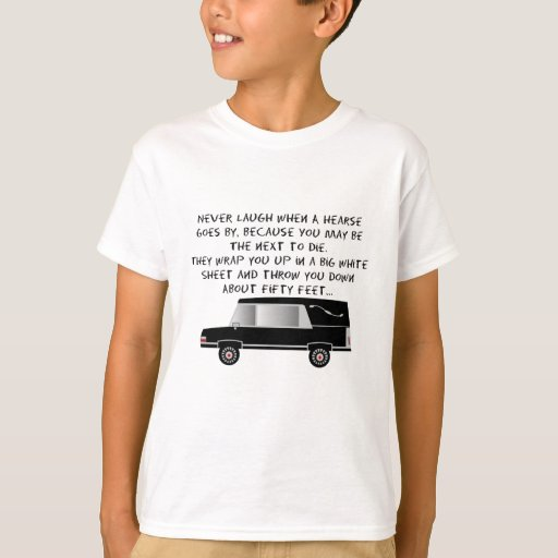 Funeral Director/Mortician Funny Hearse Design T-Shirt