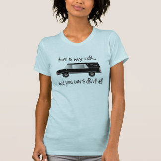 Funeral Director/Mortician Funny Hearse T-shirt