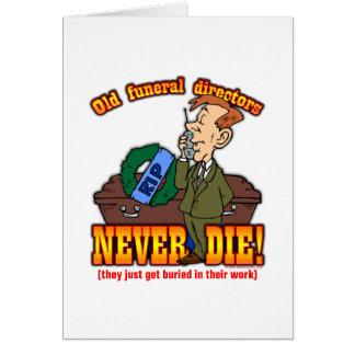 Funeral Directors Card