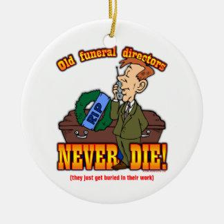 Funeral Directors Christmas Ornaments