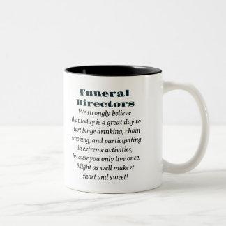 Funeral Directors Two-Tone Mug