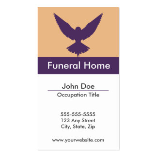 Funeral Home Business Card