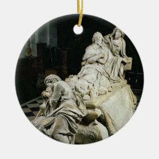 Funeral monument to Armand-Jean du Plessis, Cardin Christmas Ornament
