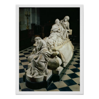 Funeral monument to Armand-Jean du Plessis, Cardin Posters