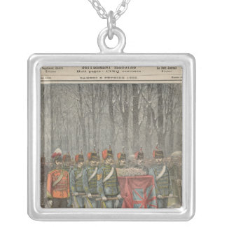Funeral of Albert Victor  Duke of Clarence Silver Plated Necklace