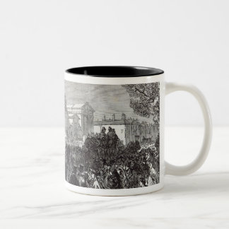 Funeral of Sergeant Brett Two-Tone Coffee Mug