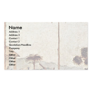 Funeral Of St. Jerome Detail By Carpaccio Vittore Business Card Templates