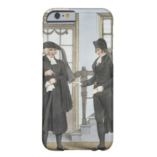Funeral officials of Amsterdam, illustration from Barely There iPhone 6 Case