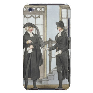 Funeral officials of Amsterdam, illustration from iPod Touch Cases