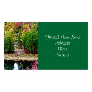 Funeral or Memorial Business Cards