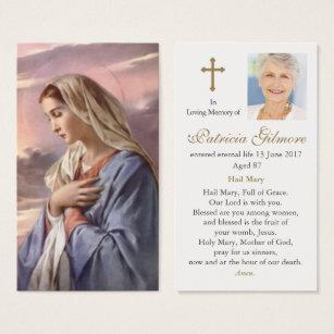 Catholic Funeral Prayer Cards Sasolonafora