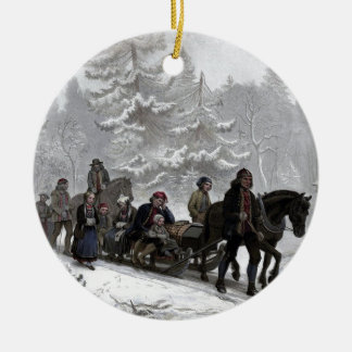 Funeral Procession Christmas Ornament