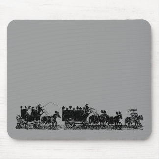 Funeral Procession Mouse Pad