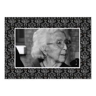 Funeral Remembrance Death Notice Photo Cards Custom Announcements