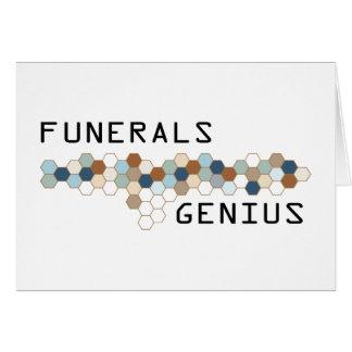 Funerals Genius Cards