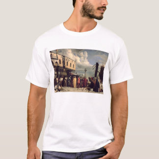 Funerary honours given to Titian who died in Venic T-Shirt