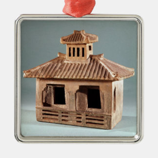 Funerary model of a house, Han Dynasty Christmas Ornament