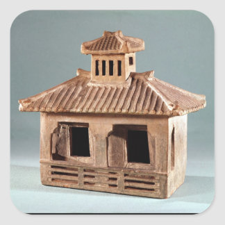 Funerary model of a house, Han Dynasty Square Sticker
