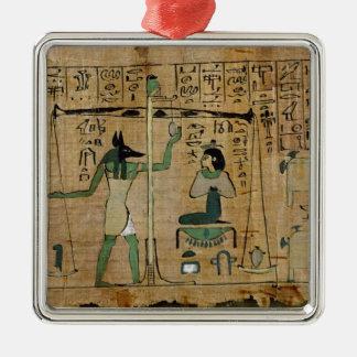 Funerary papyrus of Djedkhonsouefankh Christmas Ornament