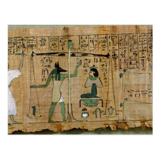Funerary papyrus of Djedkhonsouefankh Postcard
