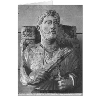 Funerary relief of Jarhai, from Palmyra, Syria Card