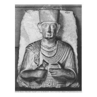 Funerary relief of Zabdale, from Palmyra, Syria Postcard