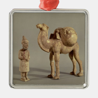 Funerary statuettes of a laden camel christmas ornament