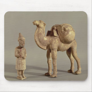 Funerary statuettes of a laden camel mouse mat