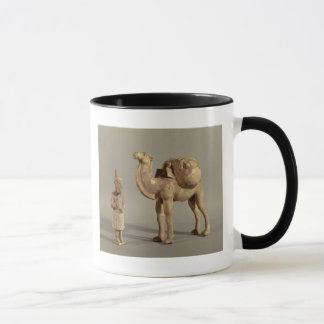 Funerary statuettes of a laden camel mug