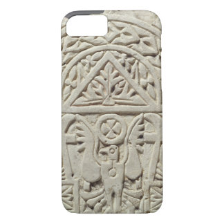 Funerary stela with a dove or eagle, 8th-9th centu iPhone 7 case