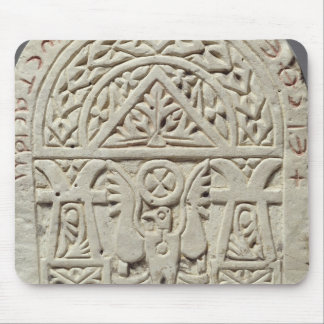 Funerary stela with a dove or eagle, 8th-9th centu mouse mat